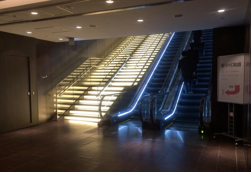 サクラランジ階段