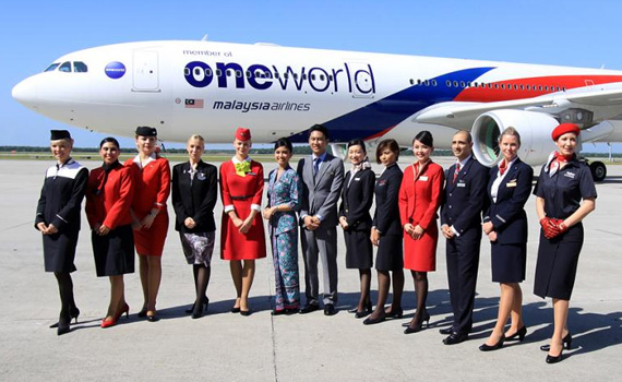 oneworld-flight attendant